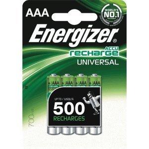 Energizer Akkus Universal Micro NiMh 700mAh VE=4