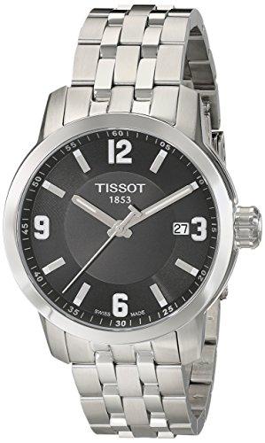 Tissot Herren-Armbanduhr Analog Quarz Edelstahl T055.410.11.057.00
