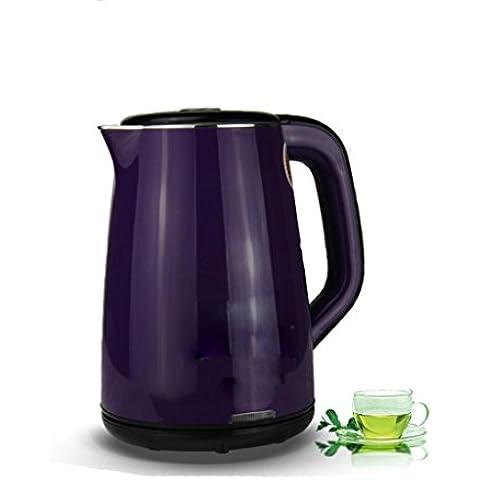 Cucina camera da letto in acciaio ebollizione veloce bollitore bollitore automatico 2L 220V Cafe , purple ,