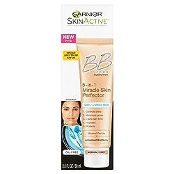 Garnier SkinActive BB Cream Sunscreen Oily/Combo Skin Medium/Deep, 2.0 FL OZ