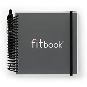 fitbook BLACK : fitness and nutrition journal