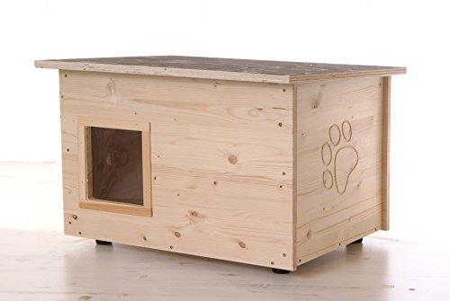 Katzenhaus - Katzenhütte (Boden und Wände wärmegedämmt)