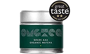 OMGTea Organic Matcha Green Tea. Japanese AAA Grade Matcha Tea Powder 30gram. Increase Energy, Boost Metabolism, Improve Mental Focus