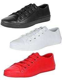 Earton Men Combo Pack of 3 Sports Shoes
