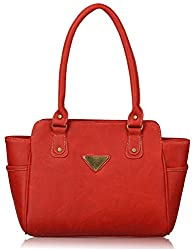 Fantosy Women's Handbag (Red) (FNB-340)