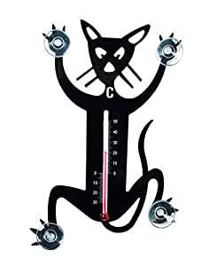 Pluto thermom tre ext rieur de fen tre d co chat pluto for Exterieur kat