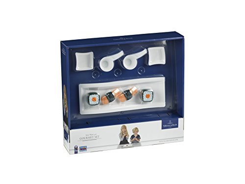 Preisvergleich Produktbild Theo Klein 9706 - Villeroy und Boch Gourmet Set New Wave