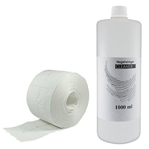 1000 ml Cleaner & 500 Pad di cellulosa