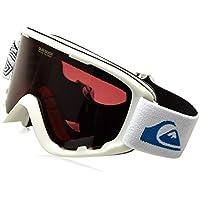 Quiksilver Sherpa Gafas de Snowboard, Hombre, Blanco (Snow), Talla Única
