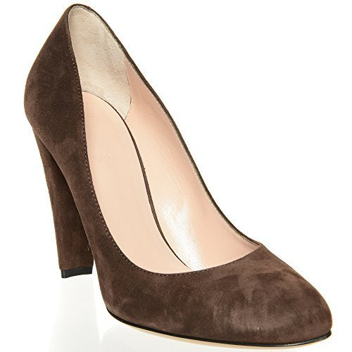 bally-ladies-brown-court-shoe