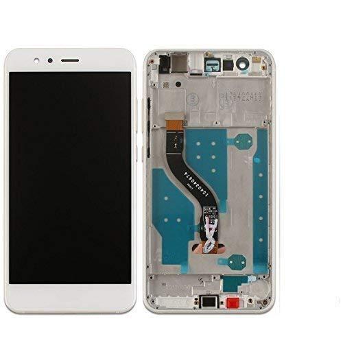 EGOTECH SCHERMO DISPLAY LCD HUAWEI P10 LITE + TOUCH SCREEN + FRAME VETRO VETRINO BIANCO (WHITE)