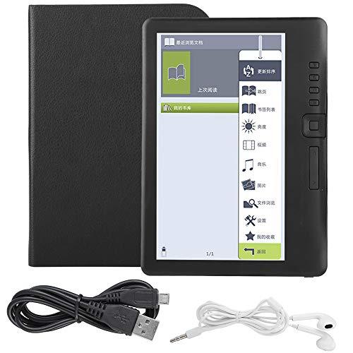 BTIHCEUOT Lettore di e-Book, BK7019 Lettore di e-Book Portatile da 7 Pollici Lo Schermo colorato Supporta la Scheda TF(4G)