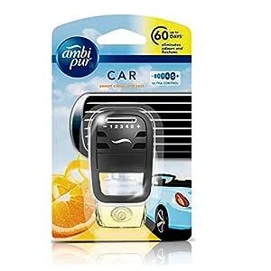 Ambi Pur Sweet Citrus and Zest Car Air Freshener Starter Kit (7.5 ml)
