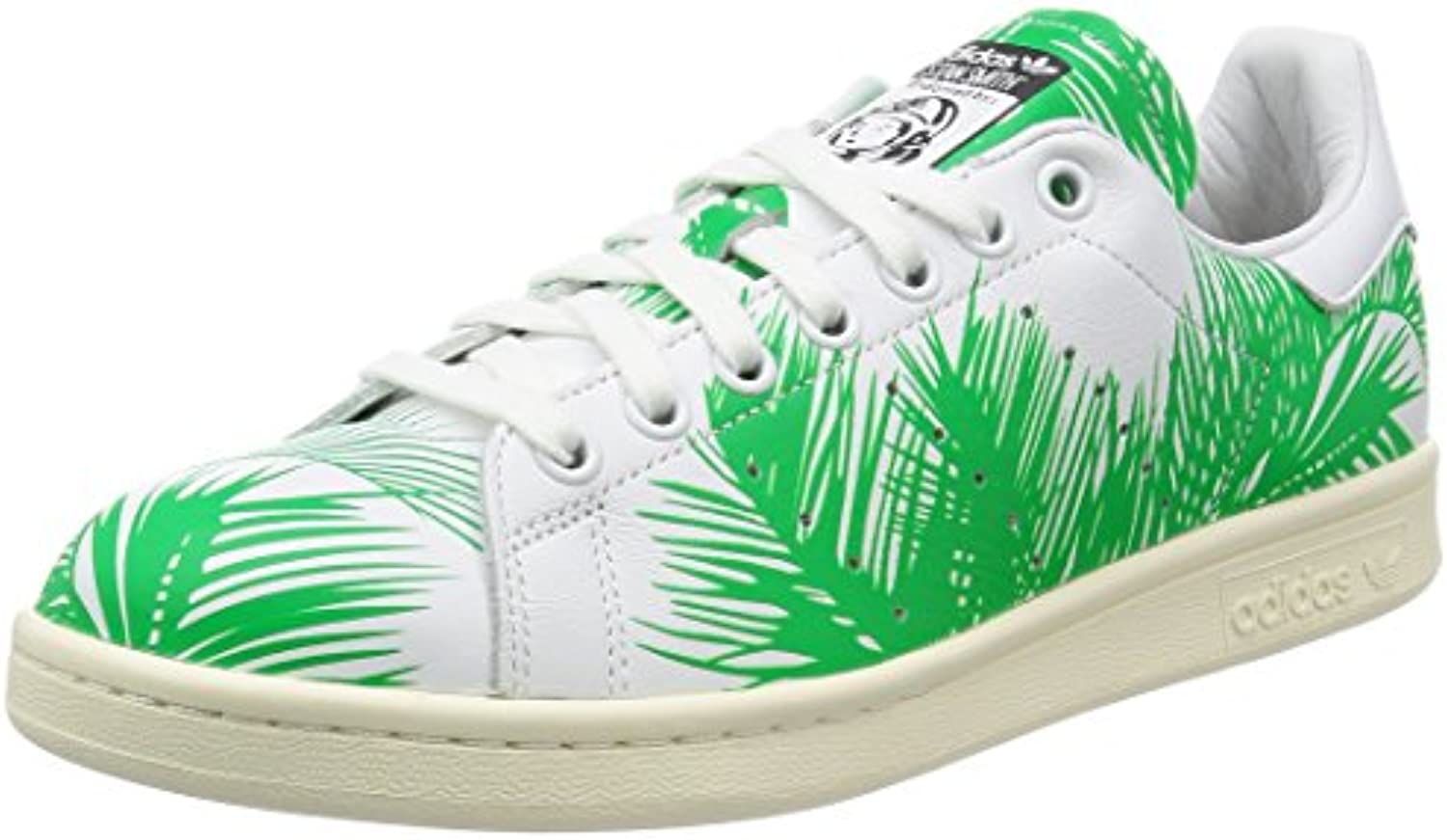 adidas Originals PW Stan Smith BBC Palm Hombres Zapatillas Blancas S82071