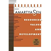 Resources, Values, and Development: Expanded Edition by Amartya Sen (1997-09-15)