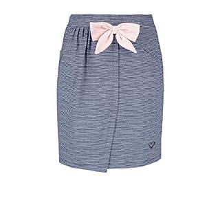 alife and Kickin Liz Skirt Damen Sommerock, Rock, Marine Stripes, XL