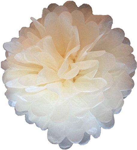 Confezione da 10 carta velina pom poms flower balls fatti a mano con decorazioni per matrimoni disponibili in 2 dimensioni 12