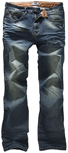 Black Premium by EMP Johnny (Boot-Cut) Jeans blau Blau