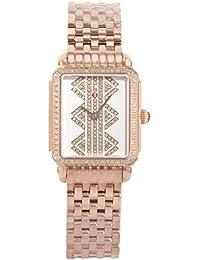 Michele Deco II MWW06I000021 Rose Gold Tone Stainless Steel Quartz Ladies Watch
