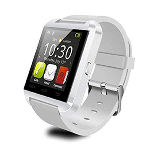 Kolylong U8 1.5 inch Bildschirm Smart-Armbanduhr TFT LCD Bluetooth U8 4.0 for Android Handy (white) müssen Aufladen vor dem Gebrauch
