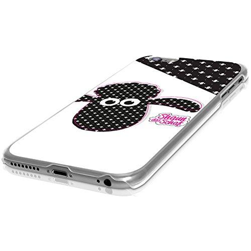 FINOO ® | Iphone SE Hardcase Handy-Hülle | Transparente Hart-Back Cover Schale mit Motiv Muster | Tasche Case mit Ultra Slim Rundum-schutz | stoßfestes dünnes Bumper Etui | Shaun das Schaf | Shaun Kre Shaun Karte