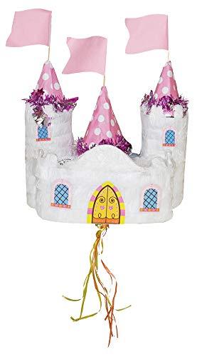 Das Kostümland Pinata - Geburtstags Dekoration - Märchen Schloss - Tolles Geschenk für Kindergeburtstag, Hochzeit Oder Mottoparty (Märchen-geburtstag Dekorationen)