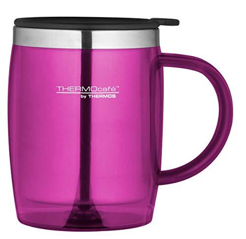 ThermoCafé by THERMOS 4059.244.035 Bürotasse Desktop Mug, Kunststoff Rosa 0,35 l, BPA-Free