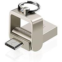 OTG Memoria Flash para Android, UGREEN Unidad Flash USB 2.0 y OTG Micro USB Pendrive Dual para Android Móviles y Tabletas con OTG, PC de Windows, Mac, Linux (16G)