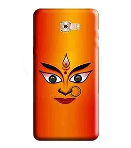 HiFi Designer Phone Back Case Cover Samsung Galaxy C7 Pro :: Samsung C7 Pro :: Samsung C7Pro :: SamsungC7 Pro ( Jai Mata ji Durga Hindu Goddess )