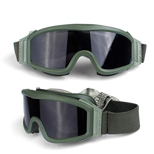 Schutzbrille Mit 180° Panoramablickfeld - Unisex Arbeitsschutzbrille Mit Antikratz Und Antibeschlag...