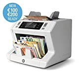 Safescan 2665-S - High-Speed Banknotenzähler mit Wertzählung für gemischte Geldscheine, mit 7-facher Falschgeldprüfungbanknote - 100%ige...