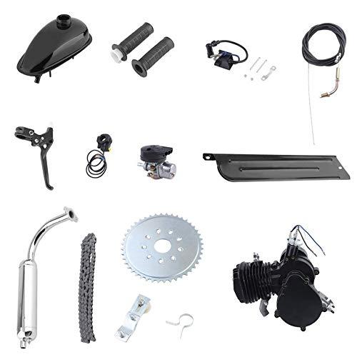 VCB 80cc 2-Takt Motor Motor Kit für motorisierte Fahrrad Fahrrad Gas Powered Black - Schwarz (Fahrrad-kit Motorisierte)