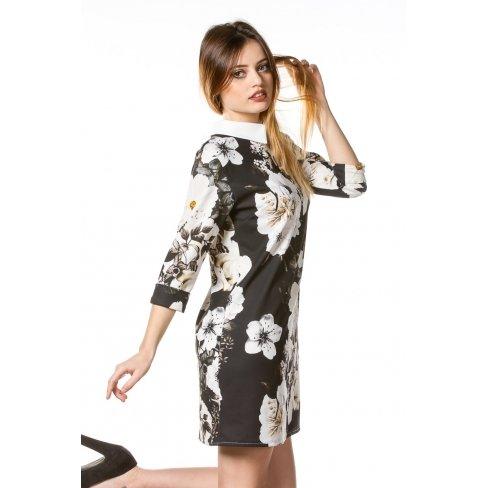 Princesse boutique - Robe NOIRE imprimée Noir