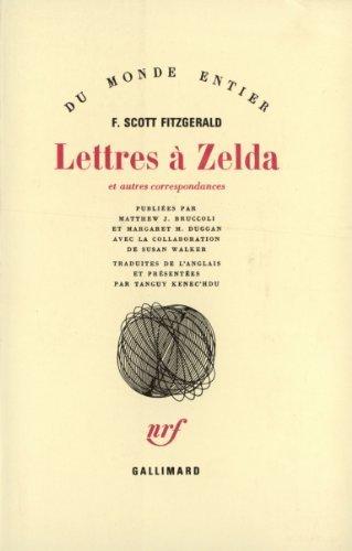 Lettres Zelda Et Autres Correspondances [Pdf/ePub] eBook