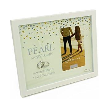 30th Pearl  Wedding Anniversary Gift Photo Frame WG92930