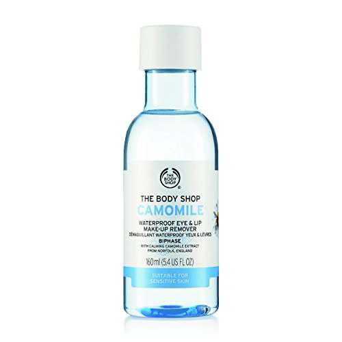 The Body Shop Kamille Wasserfestes Augen Make-up Entferner & Lippen 150ml The Body Shop Camomile Waterproof Eye & Lip Makeup Remover 150ml