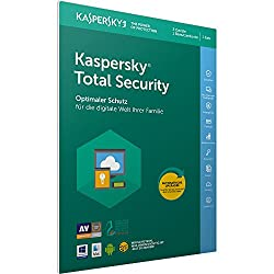 Kaspersky Total Security 2018 Standard | 3 Geräte | 1 Jahr | Windowsmacandroid | Download