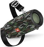 JBL Xtreme 2 Musikbox in Camouflage – Wasserdichter, portabler Stereo Bluetooth Speaker mit integrierter Power