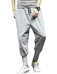 Liangzhu Hombre Casual Pantalones Elástico Harem Pantalones Jogging  Pantalones Pantalones De Yoga Pantalones Aladin Pantalones f517d7e16f32
