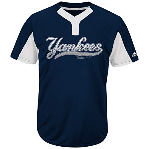 Majestic MLB Youth Yankees Premier Eagle 2-Button Jersey (M) a366ce08003