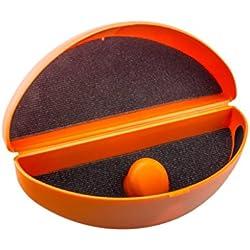Edison & King Brillenetui für Sonnenbrillen und stark Gebogene Brillen mit anpassbarer Etuihöhe in verschiedenen Farben (Orange)