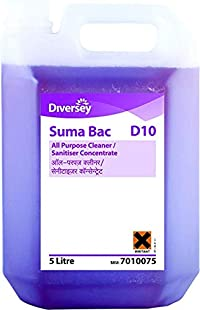 Suma Bac D10 All Purpose Cleaner/Sanitiser Concentrate 5 LTR