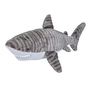 Wild Republic peluche squalo tigre, Cuddlekins coccolone peluche, regali per bambini 30 cm