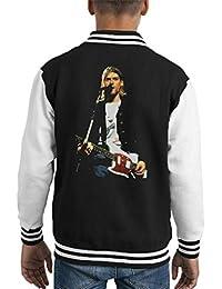 Alamy Kurt Cobain Nirvana Live Kids Varsity Jacket