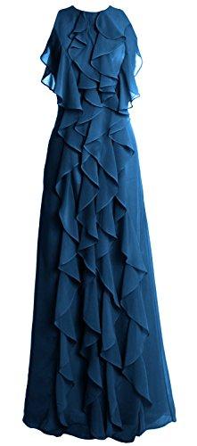 MACloth - Robe - Femme Bleu - Bleu-vert