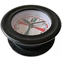 SHIP'S Clock – Marine RADIO ROOM Clock - Aluminium - Boat / Maritime / Nautical (5011A)