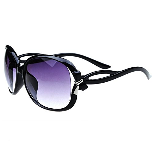 Z-P New Style Fashion Women's Wayfarer Bowknot UV400 Sunglasses 59MM