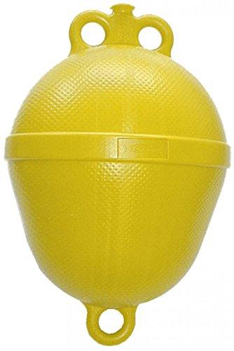 Navyline Polyethylen Mini Mooring Boje - 390 mm x Ø 250 mm, Farbe:gelb
