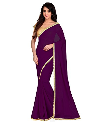Viva N Diva Saree For Women's new collection party wear Magenta Color...