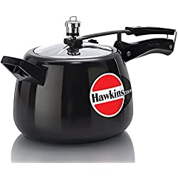 Hawkins Contura Hard Anodised Pressure Cooker, 4 Litres